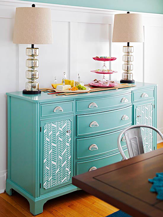 DIY Patterned Furniture