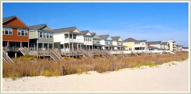 Garden City Offers Some Great Beach Homes That Make Excellent Investment Properties These Can Be Oceanfront Or A Few Rows From The Ocean And